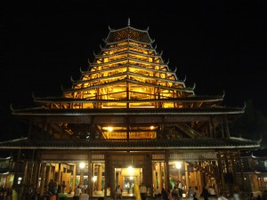 Pagoda waiting area