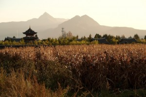 Sunset in Lijiang