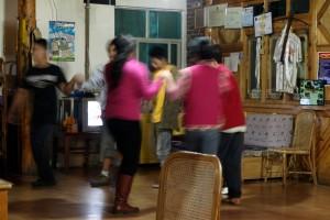 Lijiang folk dancing