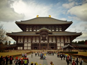 Todai-ji: The worlds largest wooden structure in Nara, Japan, built in 1709